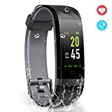 YoYoFit Fitness Activity Tracker Armband, IP68 Wasserdicht...