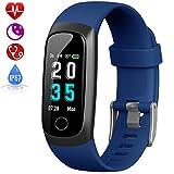 HETP Fitness Armband mit Pulsmesser, Fitness Tracker Uhr...