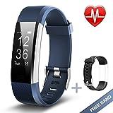Lintelek Fitness Armband Herzfrequenzmesser Fitness Tracker...