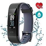 CHEREEKI Fitness Armband, Wasserdicht IP68 Fitness Tracker...