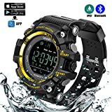 Bluetooth Smart Sportuhr wasserdichte Uhr Outdoor Digitaluhr...